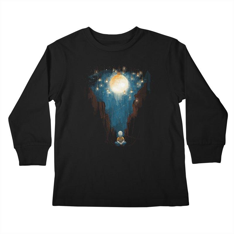 Switch on the lights Kids Longsleeve T-Shirt by MrWayne