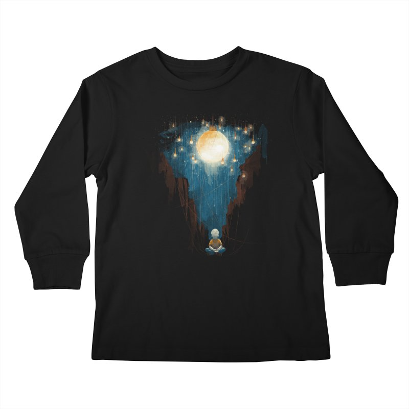Switch on the lights Kids Longsleeve T-Shirt by MrWayne