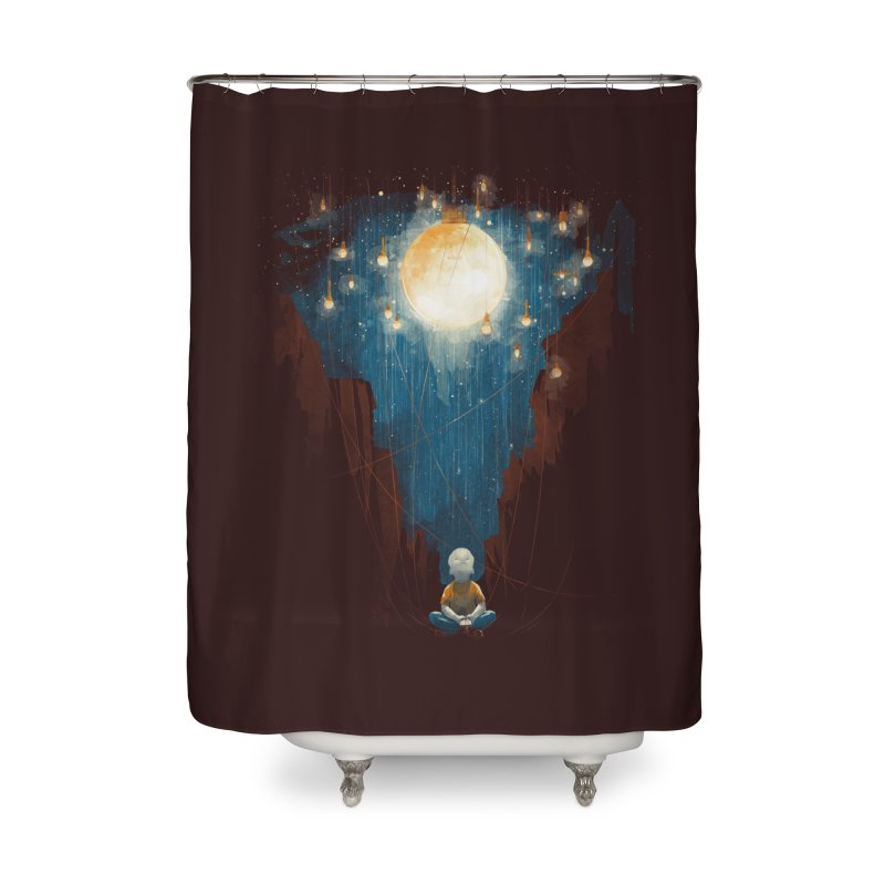 Switch on the lights Home Shower Curtain by MrWayne