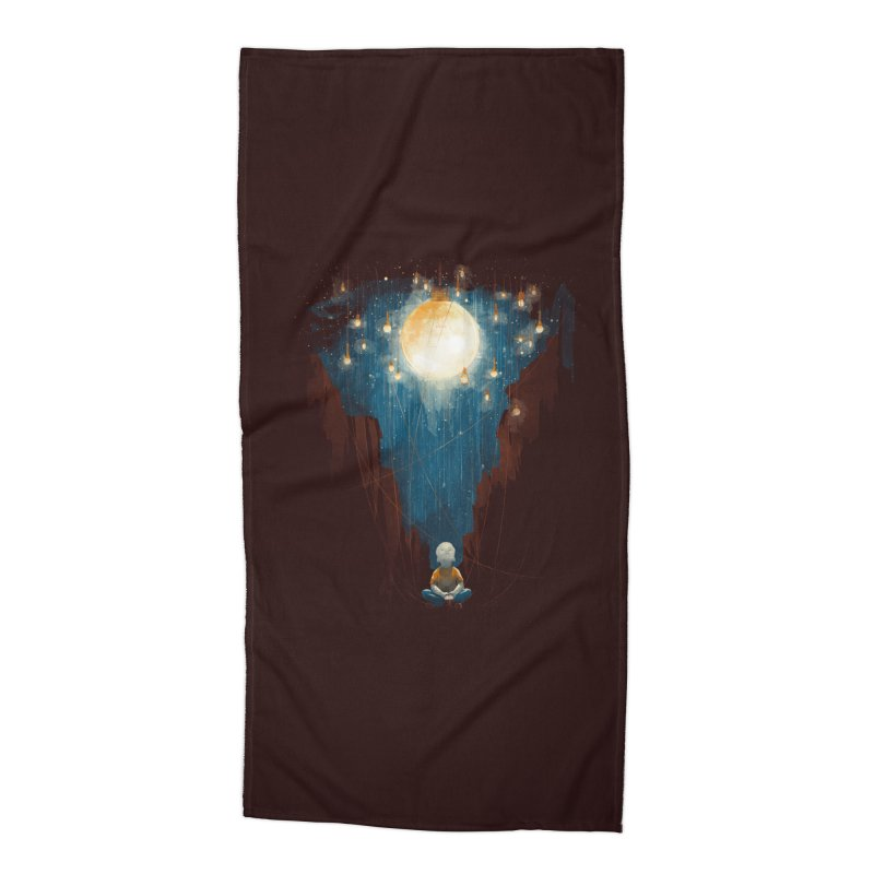 Switch on the lights Accessories Beach Towel by MrWayne