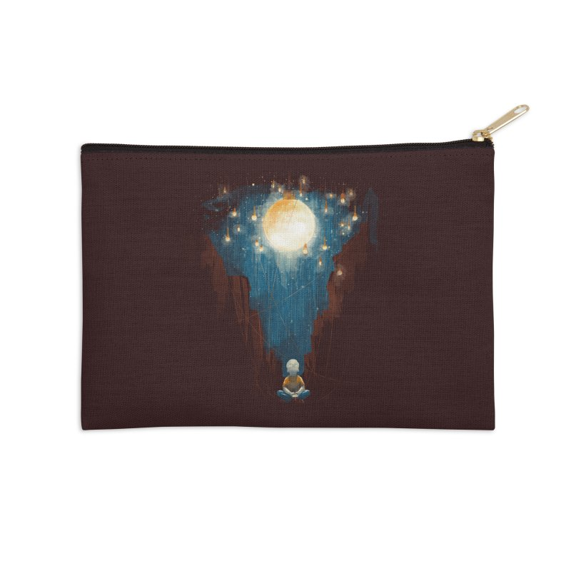 Switch on the lights Accessories Zip Pouch by MrWayne