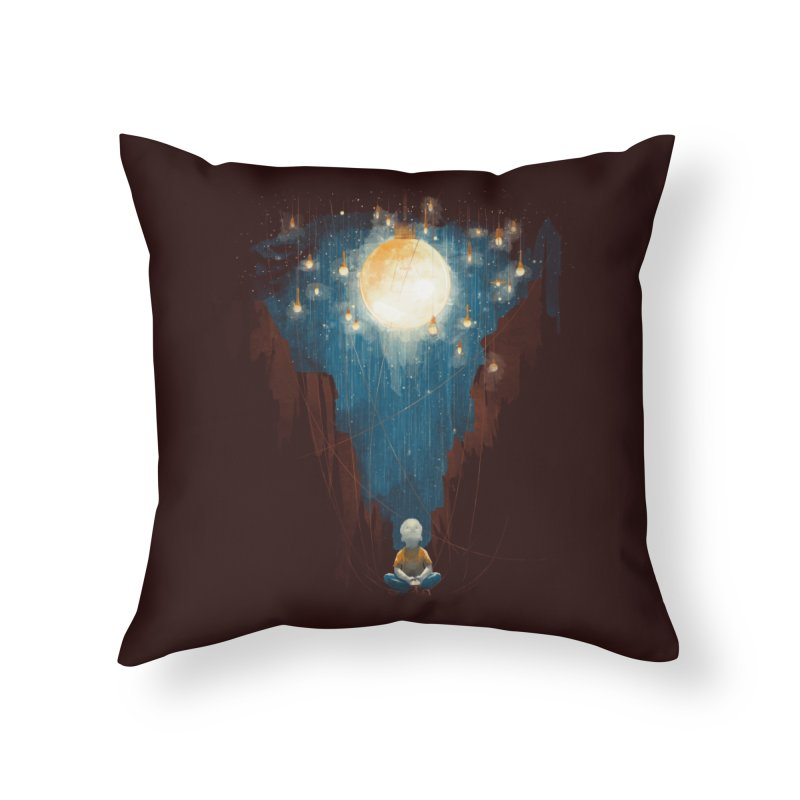 Switch on the lights Home Throw Pillow by MrWayne