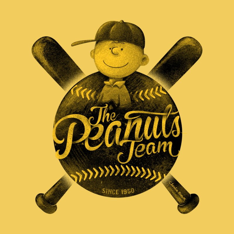 The Peanuts team by MrWayne