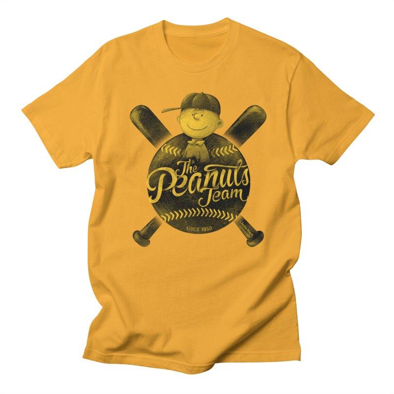 The Peanuts team Men's T-shirt by MrWayne