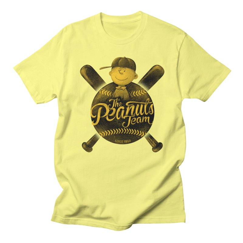 The Peanuts team Men's Regular T-Shirt by MrWayne