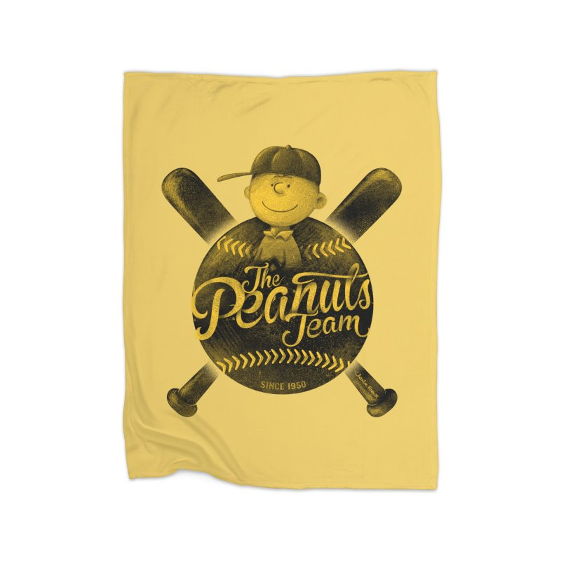 The Peanuts team Home Blanket by MrWayne