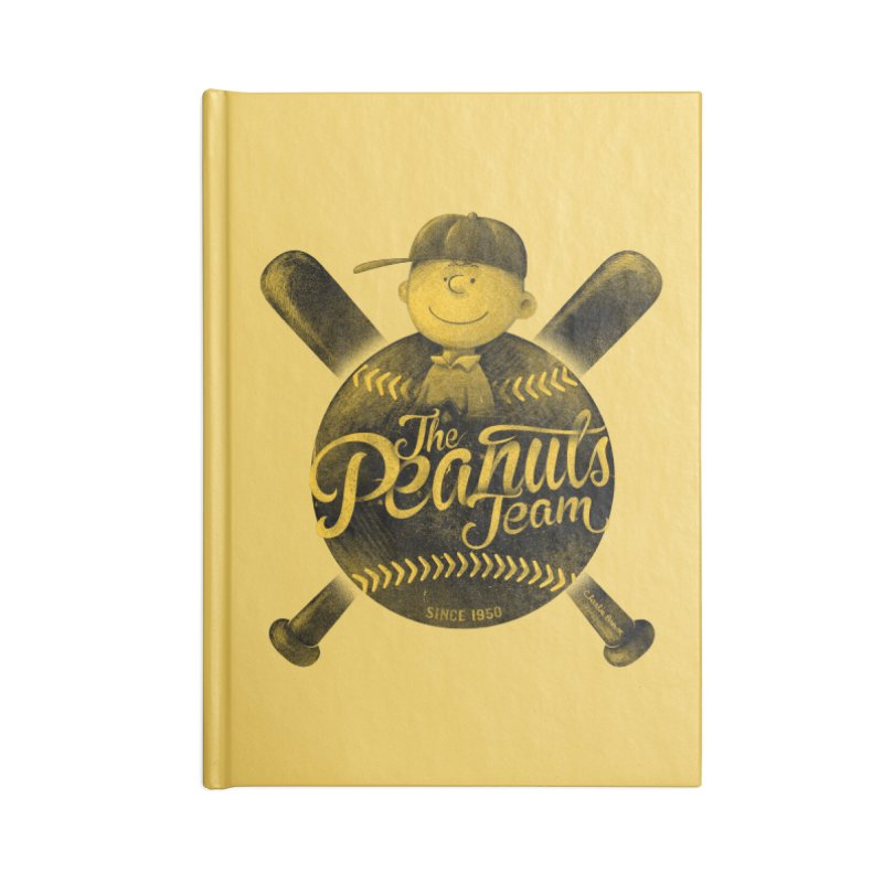 The Peanuts team Accessories Notebook by MrWayne