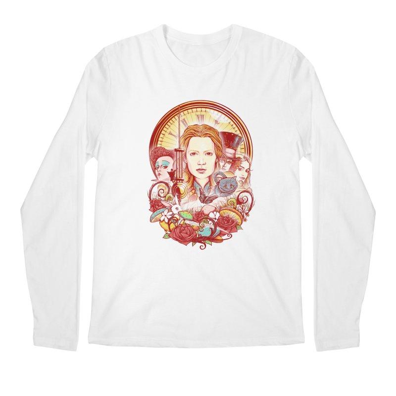 Beautiful Alice Men's Longsleeve T-Shirt by MrWayne