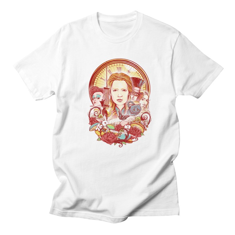 Beautiful Alice Women's Regular Unisex T-Shirt by MrWayne
