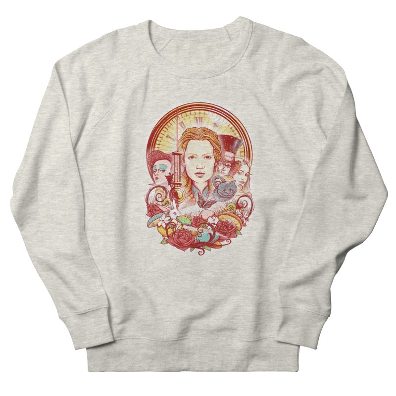 Beautiful Alice Women's French Terry Sweatshirt by MrWayne