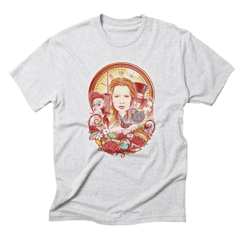 Beautiful Alice Men's Triblend T-Shirt by MrWayne