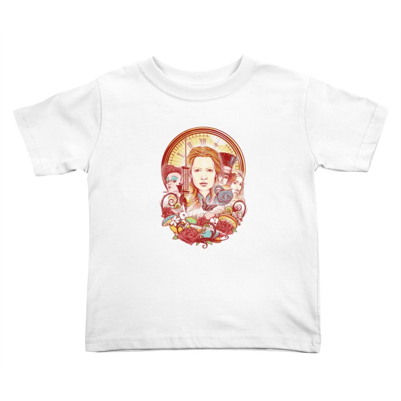Beautiful Alice Kids Toddler T-Shirt by MrWayne