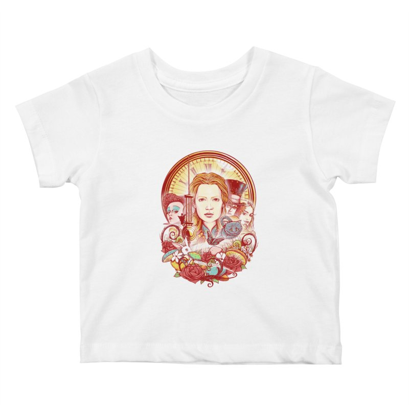Beautiful Alice Kids Baby T-Shirt by MrWayne