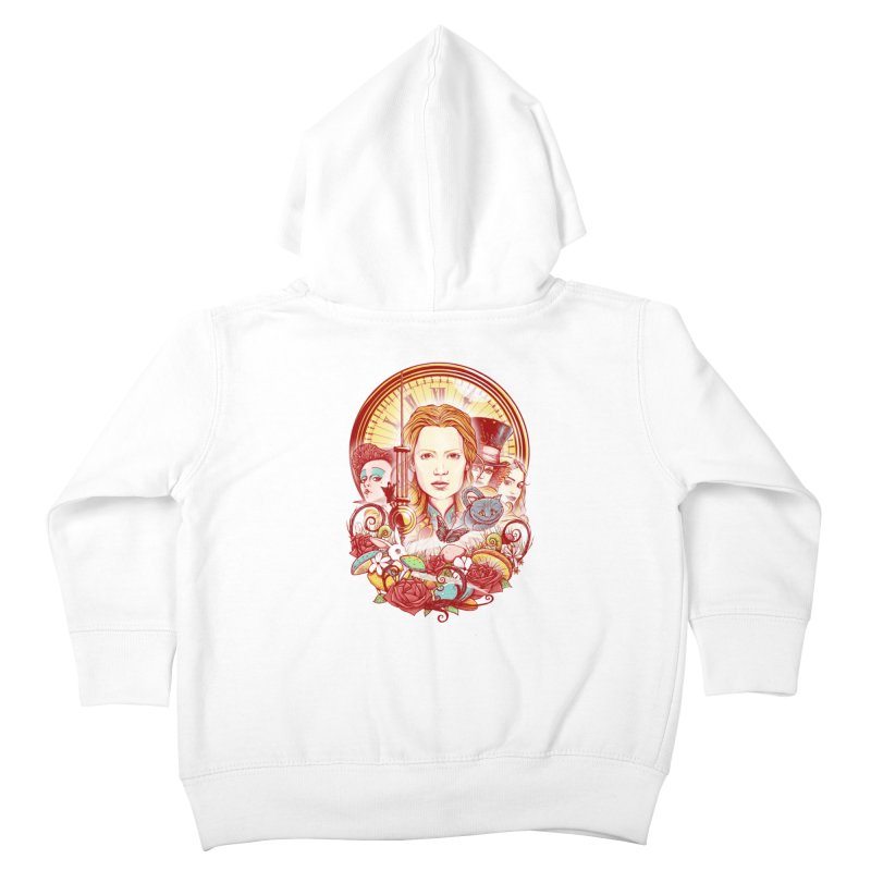 Beautiful Alice Kids Toddler Zip-Up Hoody by MrWayne