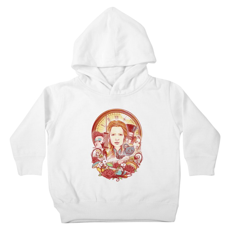 Beautiful Alice Kids Toddler Pullover Hoody by MrWayne