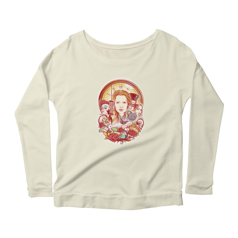 Beautiful Alice Women's Longsleeve Scoopneck  by MrWayne