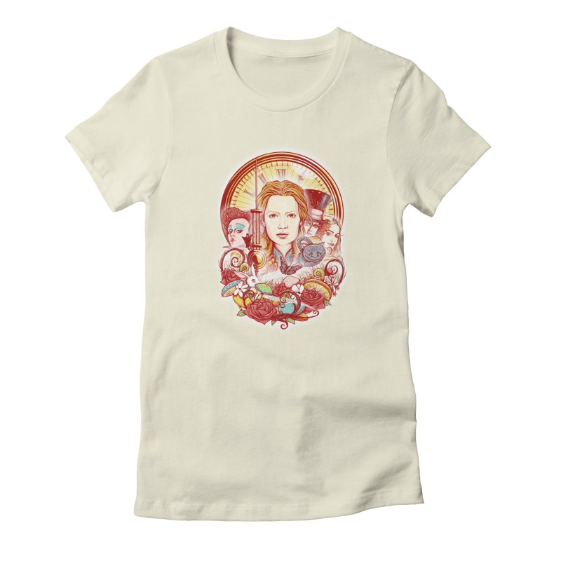 Beautiful Alice Women's Fitted T-Shirt by MrWayne