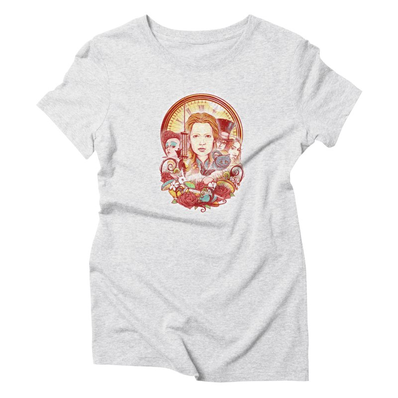 Beautiful Alice Women's Triblend T-Shirt by MrWayne