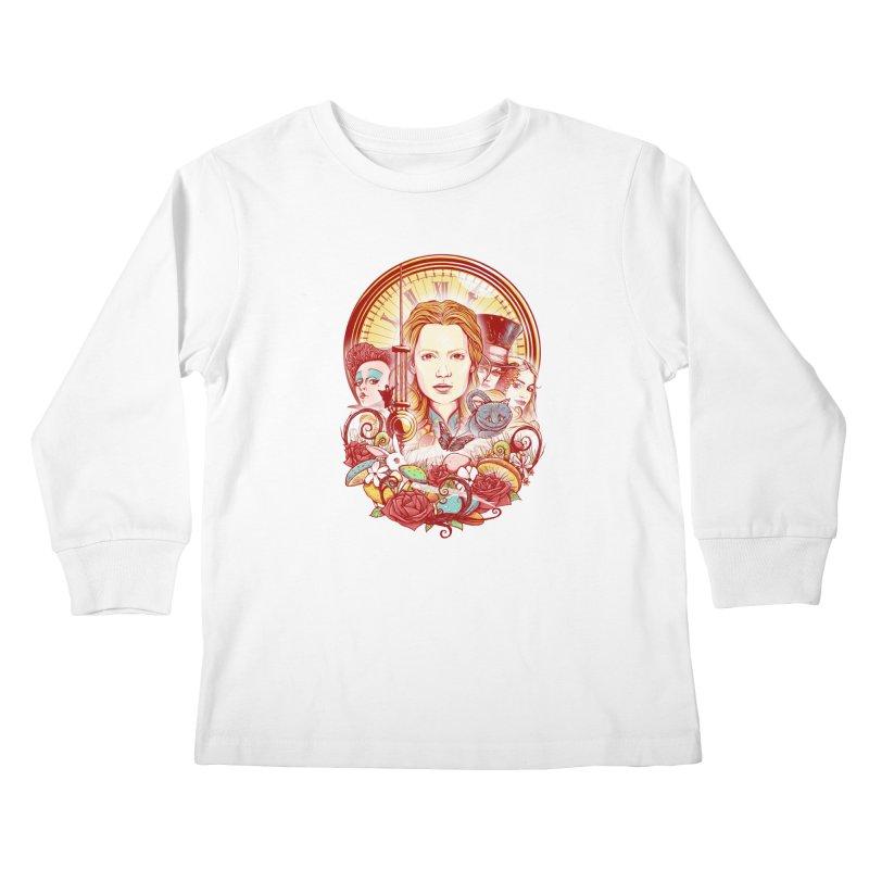 Beautiful Alice Kids Longsleeve T-Shirt by MrWayne