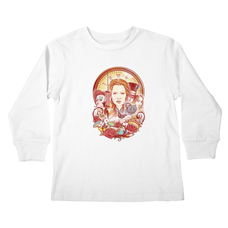 Beautiful Alice Kids Longsleeve T-Shirt by MrWayne