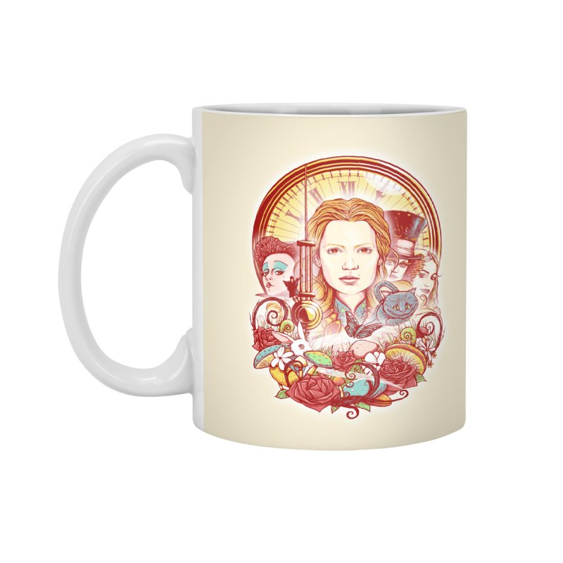 Beautiful Alice Accessories Mug by MrWayne