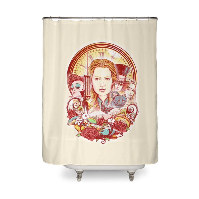 Beautiful Alice Home Shower Curtain by MrWayne