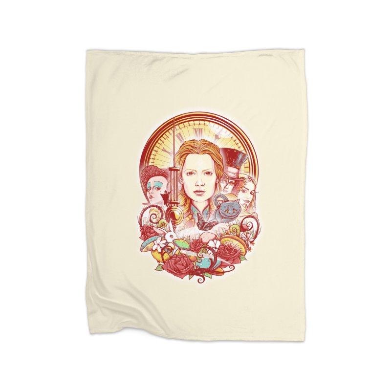 Beautiful Alice Home Fleece Blanket Blanket by MrWayne