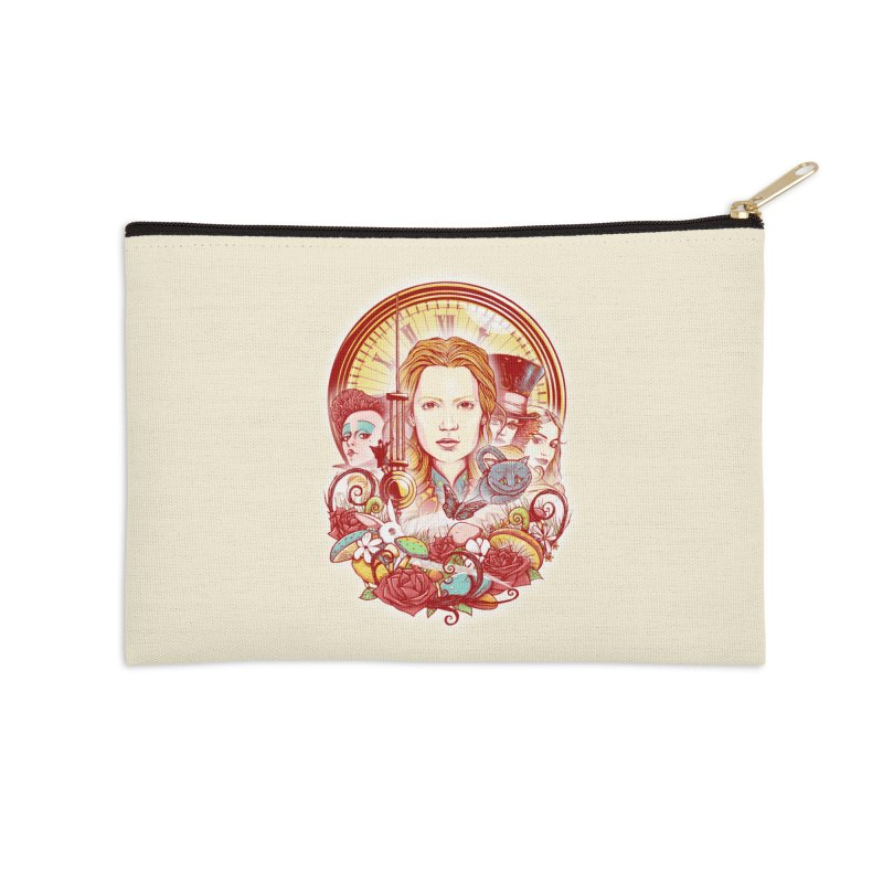 Beautiful Alice Accessories Zip Pouch by MrWayne