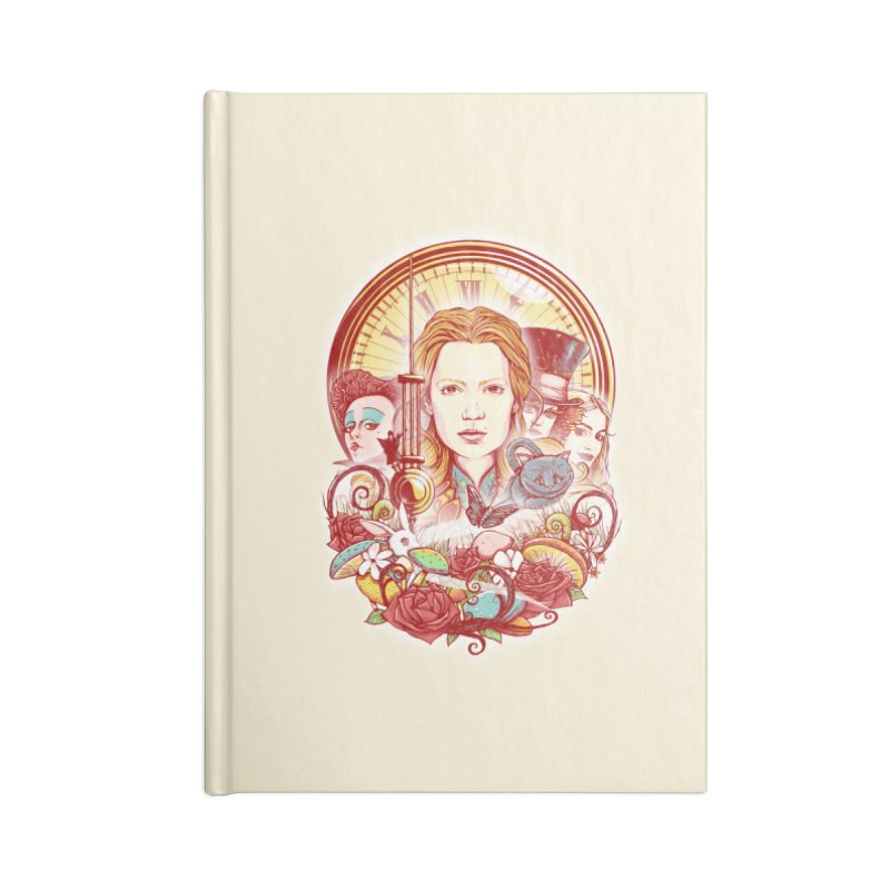 Beautiful Alice Accessories Notebook by MrWayne
