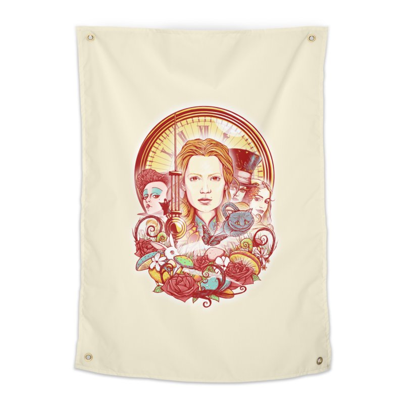 Beautiful Alice Home Tapestry by MrWayne