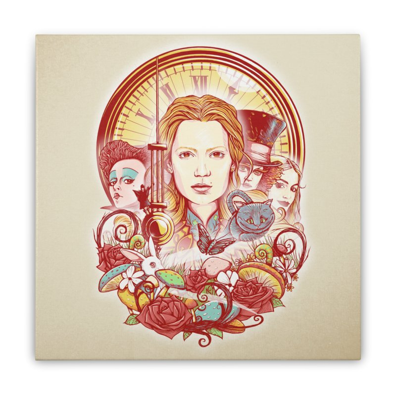 Beautiful Alice Home Stretched Canvas by MrWayne