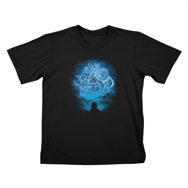 Battle Stars Kids T-Shirt by MrWayne