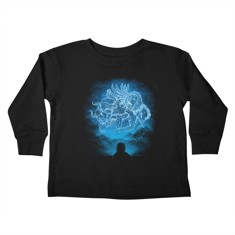 Battle Stars Kids Toddler Longsleeve T-Shirt by MrWayne