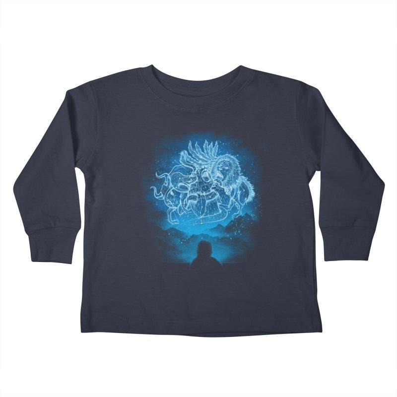 Battle Stars Kids Toddler Longsleeve T-Shirt by MrWayne