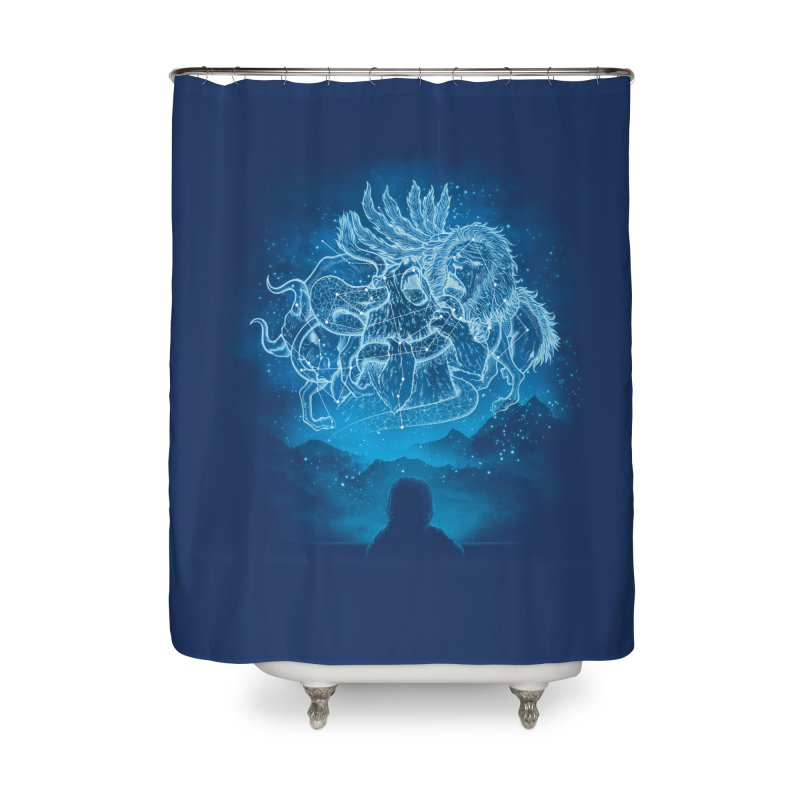 Battle Stars Home Shower Curtain by MrWayne