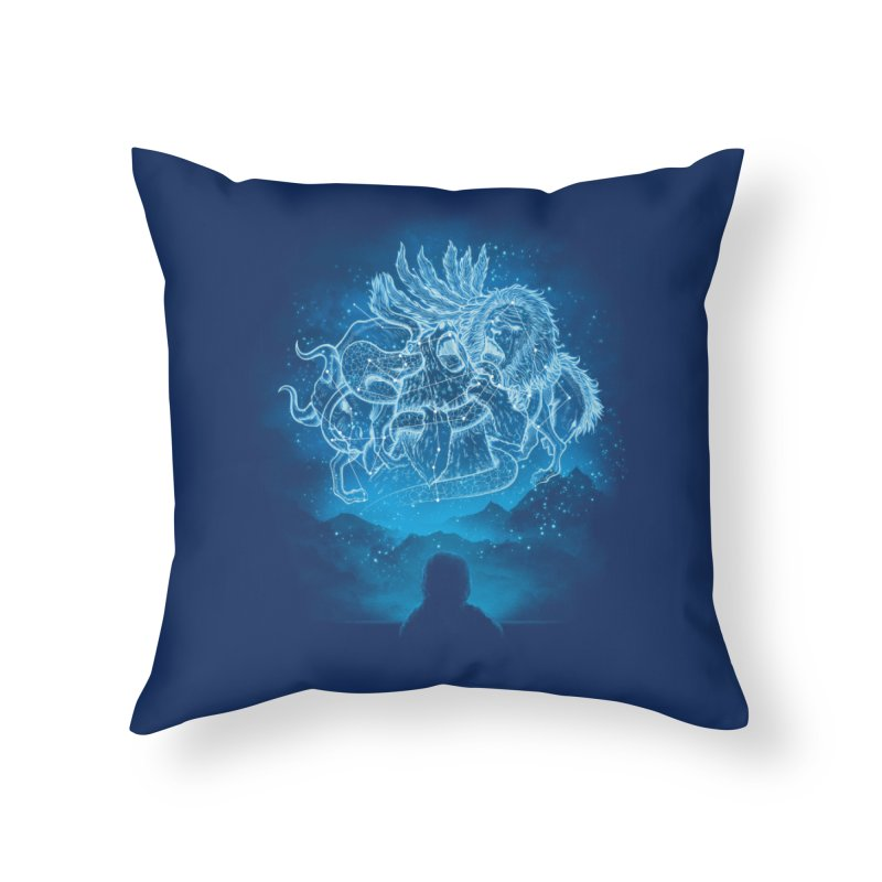 Battle Stars Home Throw Pillow by MrWayne