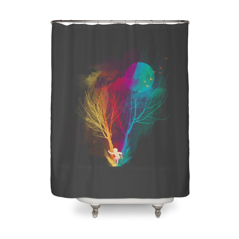 The Puddle Home Shower Curtain by MrWayne