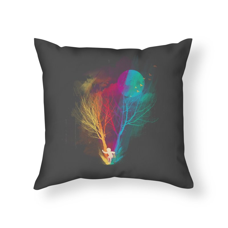 The Puddle Home Throw Pillow by MrWayne