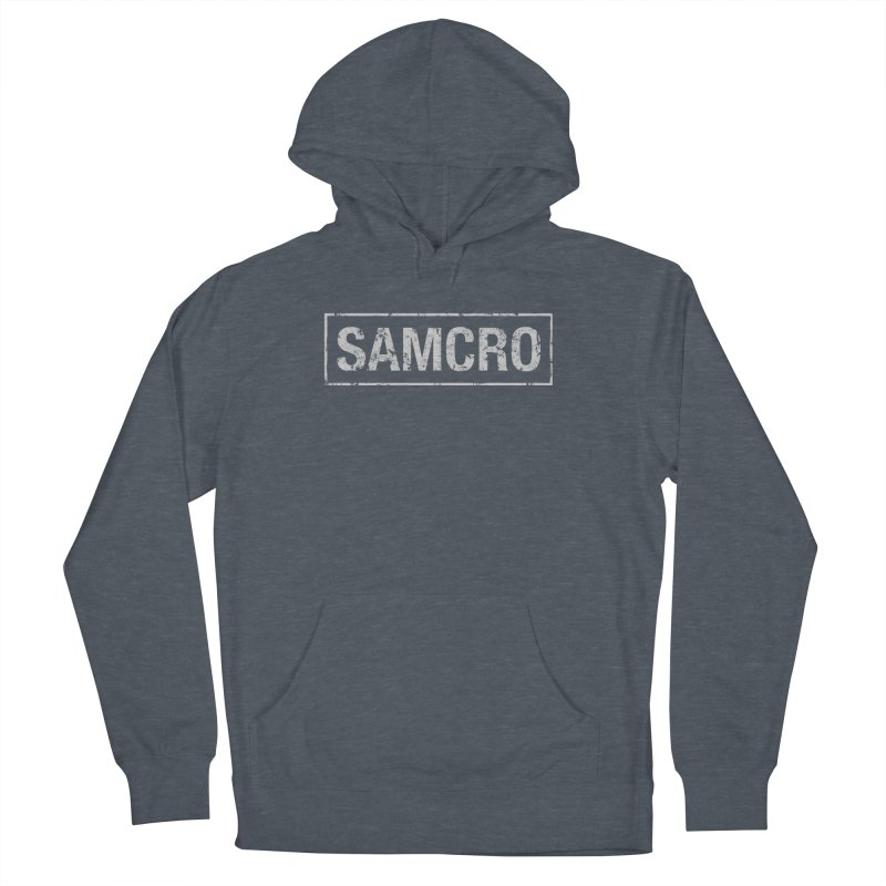 Samcro Men's French Terry Pullover Hoody by MrWayne