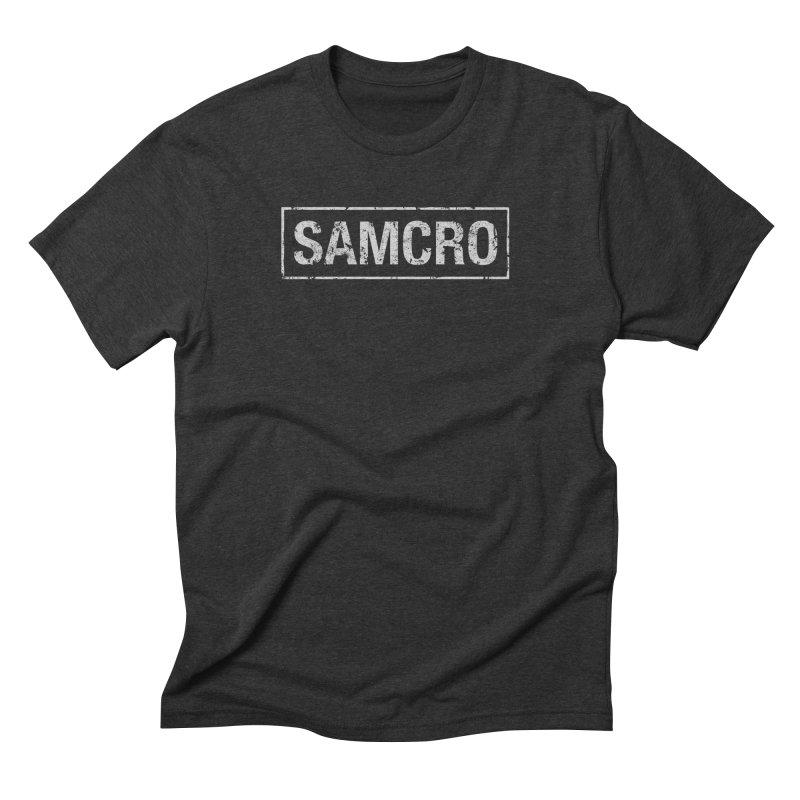 Samcro Men's Triblend T-Shirt by MrWayne