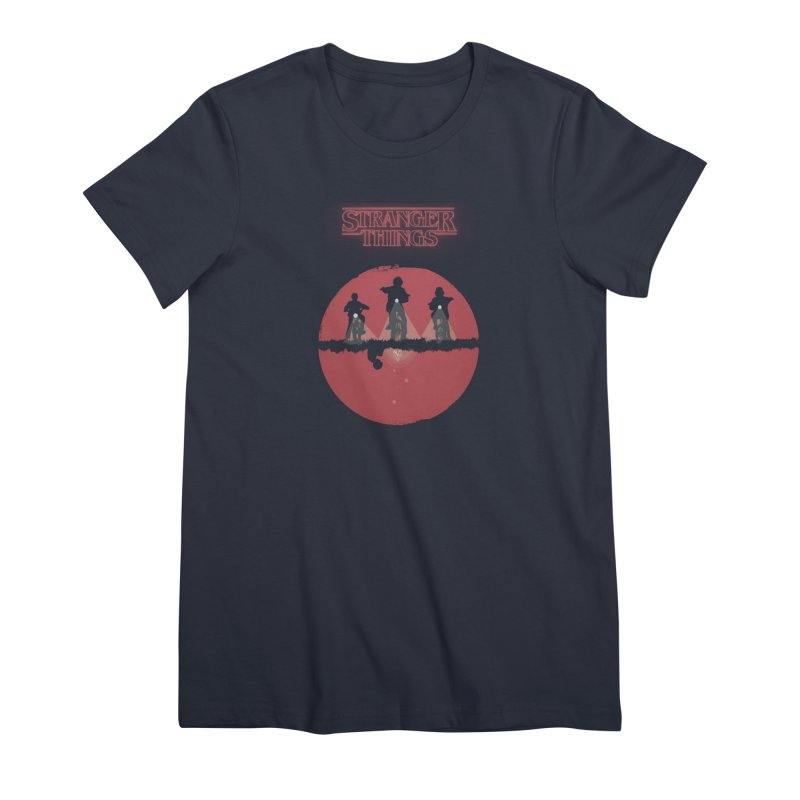 Stranger Women's Premium T-Shirt by MrWayne