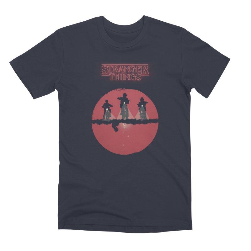 Stranger Men's Premium T-Shirt by MrWayne
