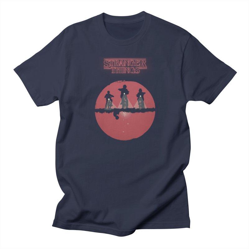 Stranger Men's Regular T-Shirt by MrWayne