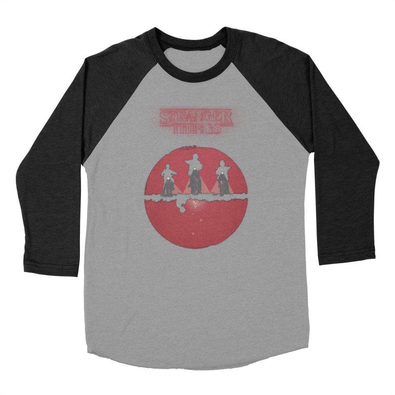 Stranger Women's Baseball Triblend Longsleeve T-Shirt by MrWayne