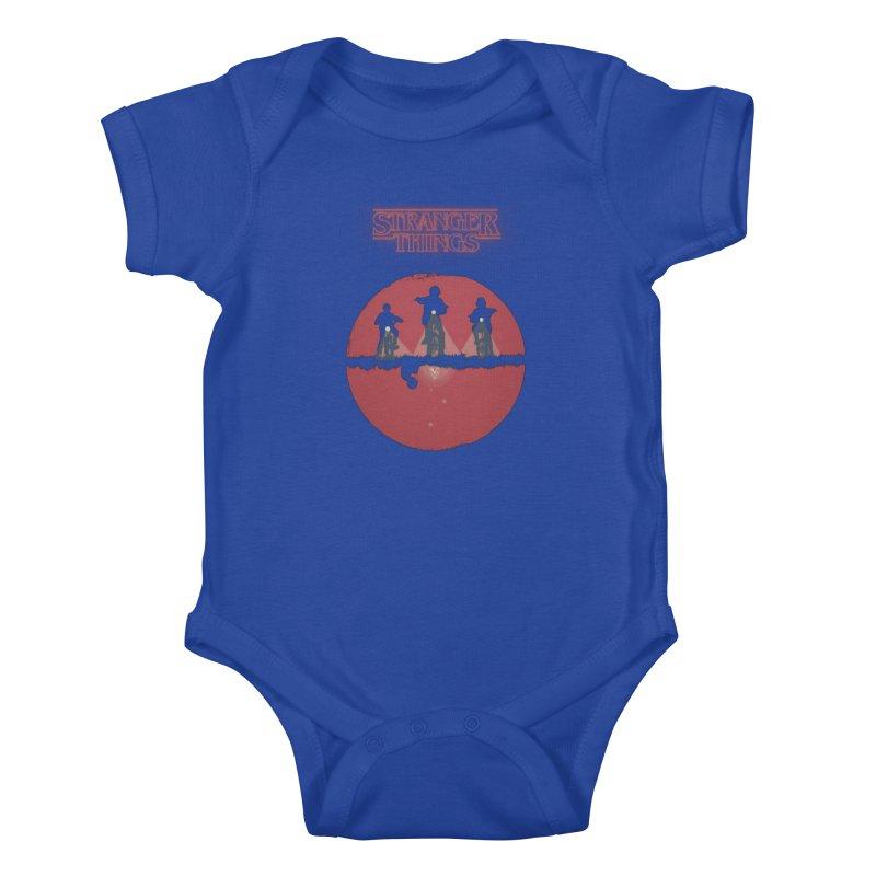 Stranger Kids Baby Bodysuit by MrWayne