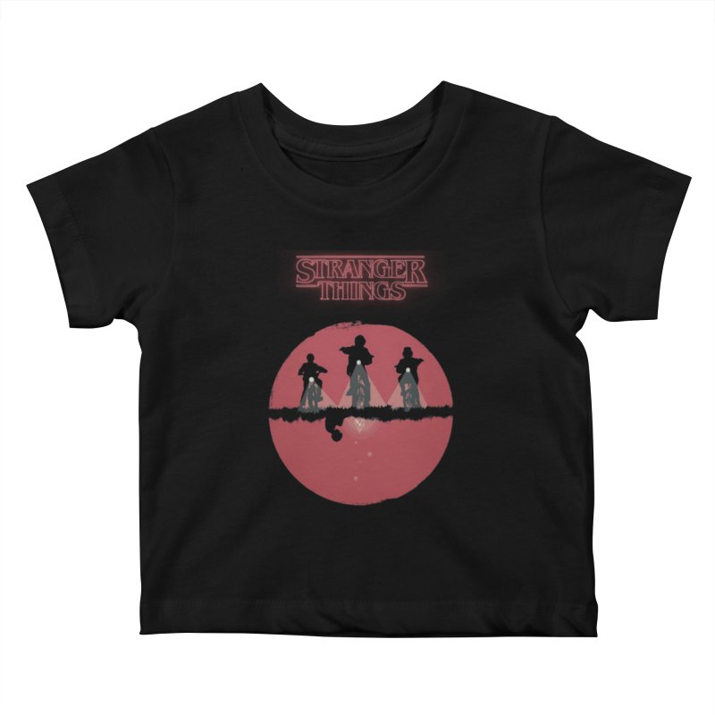 Stranger Kids Baby T-Shirt by MrWayne