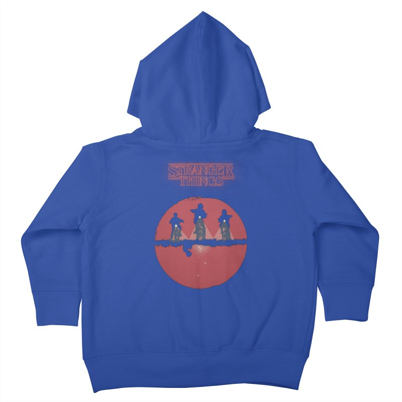 Stranger Kids Toddler Zip-Up Hoody by MrWayne
