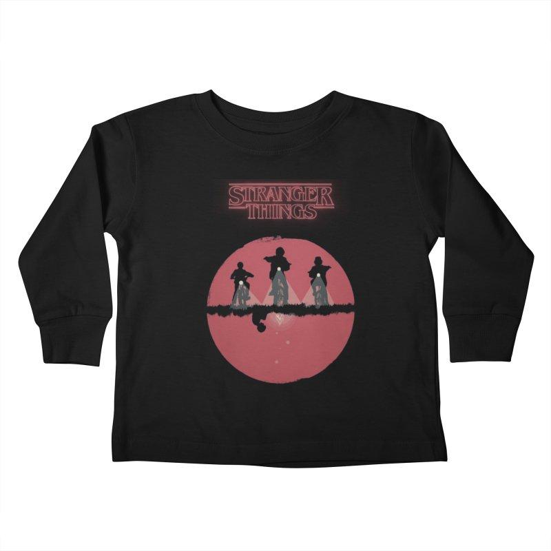 Stranger Kids Toddler Longsleeve T-Shirt by MrWayne