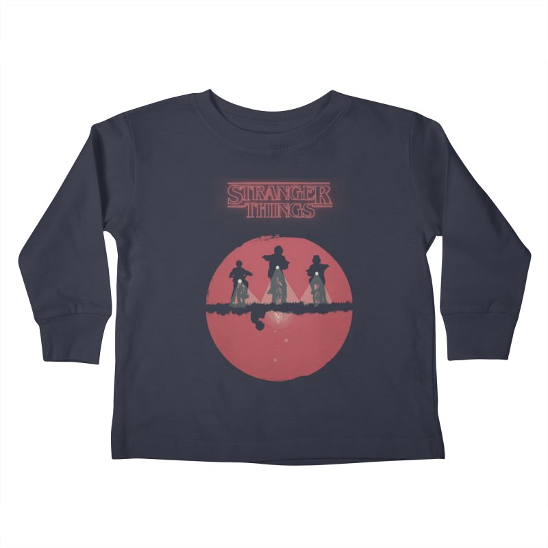 Stranger Kids Toddler Longsleeve T-Shirt by MrWayne