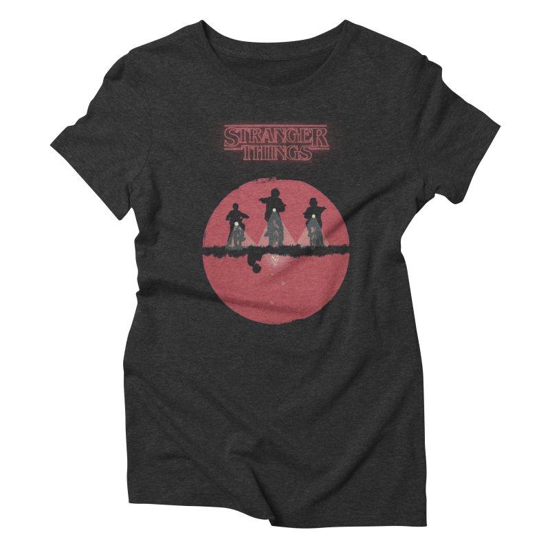 Stranger Women's Triblend T-Shirt by MrWayne